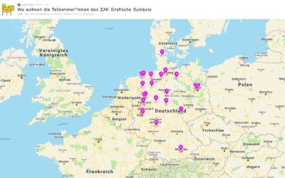 Teilnehmer*innen aus ganz Deutschland